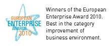 Prestigious European Business Award for DATA d.o.o.